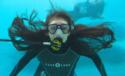 The Vampire Diaries Season Finale Pic: Diving Dobrev!