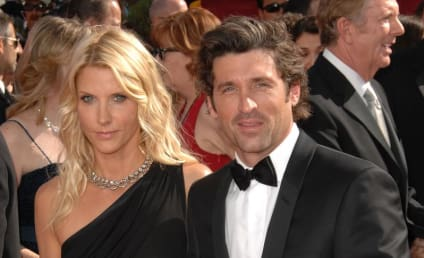 Patrick and Jillian Dempsey at the Emmys