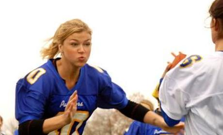 Adrianne Palicki: A Natural at Defensive End