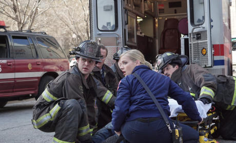 What Was That? - Chicago Fire Season 3 Episode 22