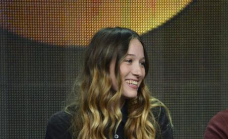 Sophie Lowe at TCA Press Tour