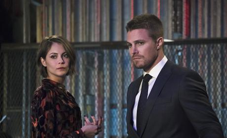 Looking Guilty - Arrow Season 4 Episode 14