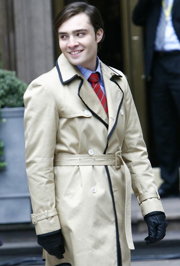 Ed Westwick Smiles