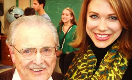 Mr. Feeny: Spotted on Girl Meets World Set!