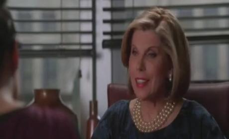 Clip of the Week: The Good Wife Meets The Vampire Diaries!