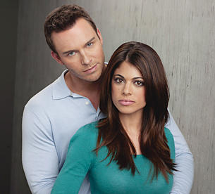 Lindsay Hartley and Eric Martsolf