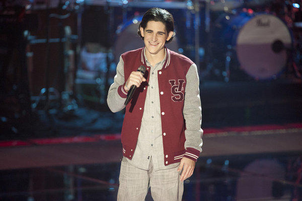James Massone's Blind Audition
