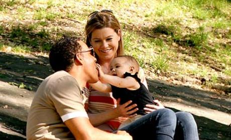 Ellen Pompeo, Chris Ivery and Stella