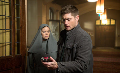 "Supernatural Photos From ""Paint It Black"""
