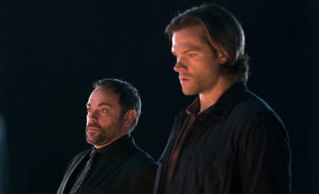 Sam and Crowley teaming up - Supernatural Season 11 Episode 9