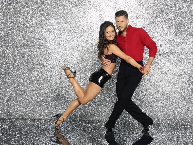 Danica McKellar and Valentine Chmerkovsky