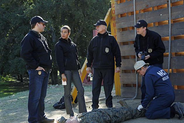 At the Crime Scene (NCIS)