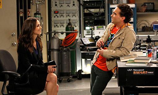 Eliza Dushku on The Big Bang Theory