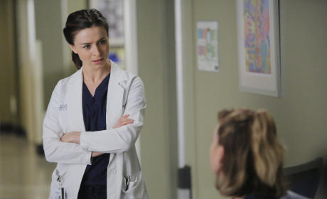 A Talk Between Sisters - Grey's Anatomy Season 12 Episode 6