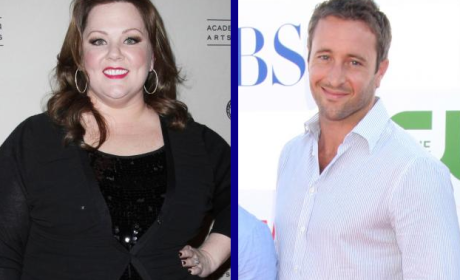 Tournament of TV Fanatic: Melissa McCarthy vs. Alex O'Loughlin!
