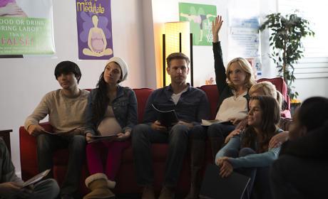 In Baby Class - The Vampire Diaries Season 7 Episode 9