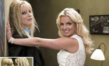 Glee Twit Pic: When Britney Met Brittany...