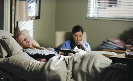 "Tonight's Grey's Anatomy Episodes: ""Goodbye"" and ""I Always Feel Like Somebody's Watching Me"""