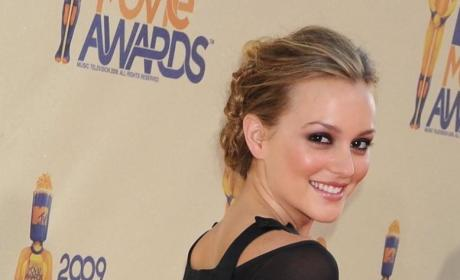 Leighton Meester at the MTV Movie Awards