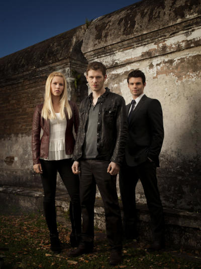 Claire Holt, Daniel Gillies and Joseph Morgan