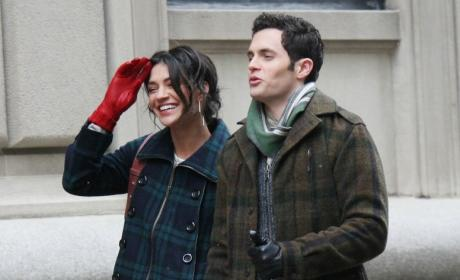 Penn Badgley, Jessica Szohr