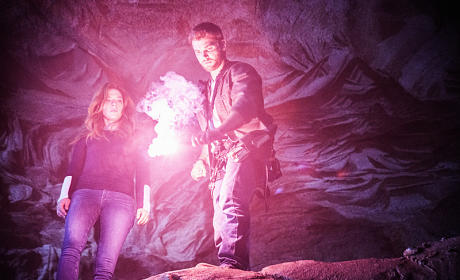 Under the Dome Photo Preview: Barbie Goes into the Abyss