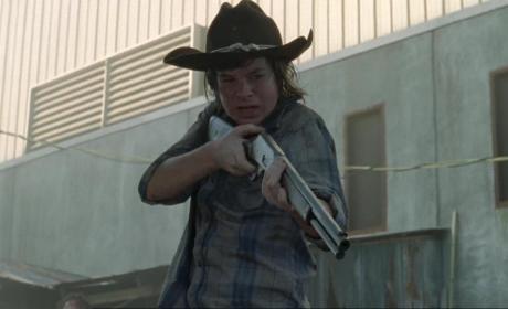 Under Attack, Carl Fights Back
