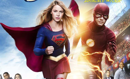 Supergirl / The Flash Crossover Details Emerge with a Cool New Poster!