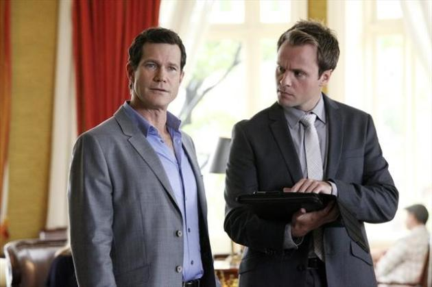 Dylan Walsh on Revenge