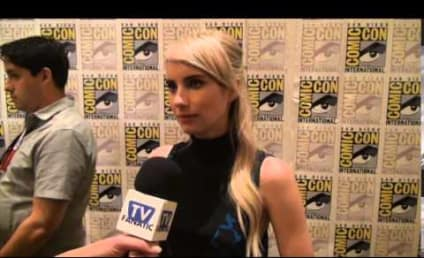 Scream Queens: Emma Roberts on Laughs, Minions, Working with Jamie Lee Curtis!
