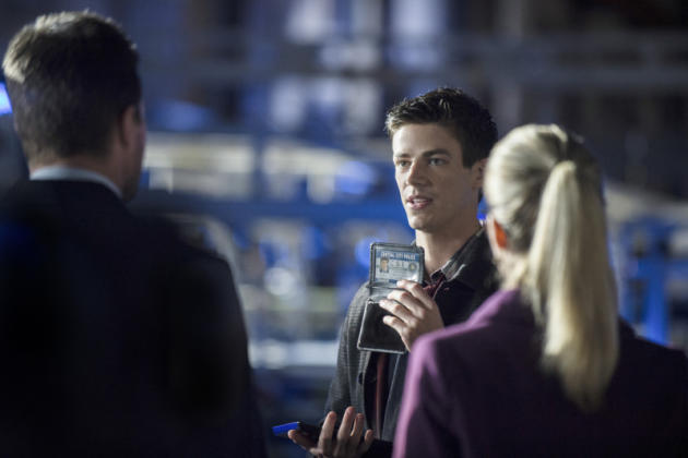Grant Gustin as Barry Allen