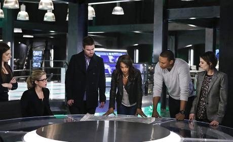 Planning - Arrow Season 4 Episode 15