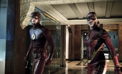 The Flash Photos: Jesse Quick Suits Up In An Old Look