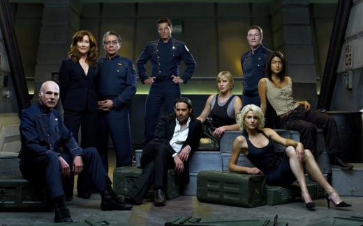 Battlestar Galactica Cast Photo