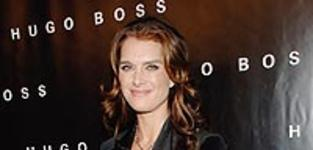 Brooke Shields at Huge Boss Store Opening