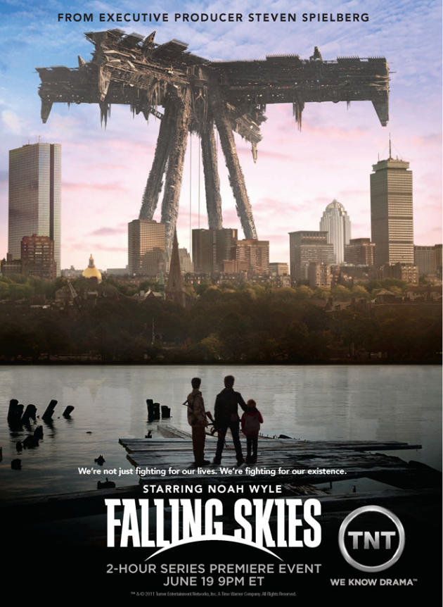 New Falling Skies Poster