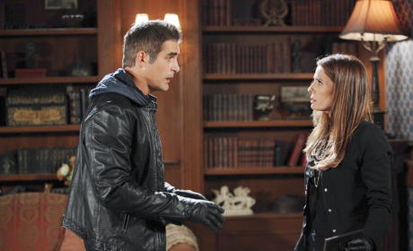 Rafe Protects Hope - Days of Our Lives