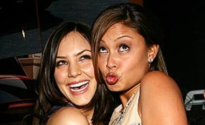 American Idol Picture of the Day: Katharine McPhee and Vanessa Minnillo
