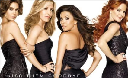 Desperate Housewives Poster: Kiss Them Goodbye