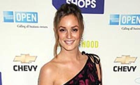 Leighton Meester Style Watch: Fabulously Floral