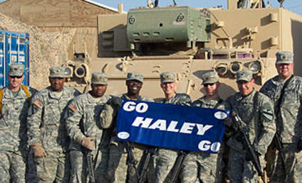 American Troops Support Haley Scarnato