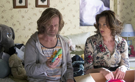Frank Gallagher and Sheila