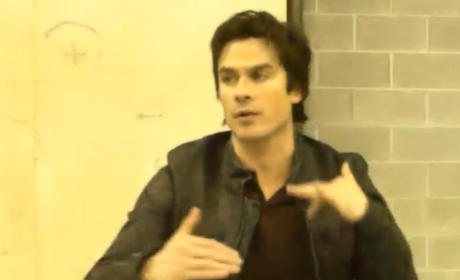 The Vampire Diaries Set Scoop: Ian Somerhalder on Bamon, Boys & Beyond