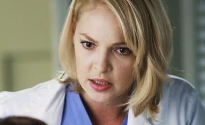 Grey's Anatomy Spoilers: Izzie is Sick!