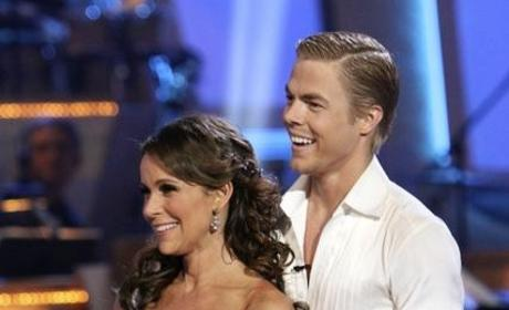 Jennifer Grey and Derek Hough Photo