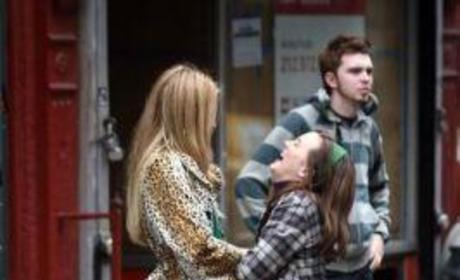 Gossip Girl Cast: On Set Pictures