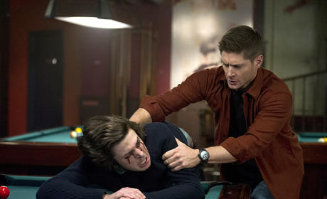 Supernatural Picture Preview: A Witch and a Hunter Walk Into a Bar...