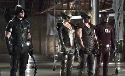 Arrow Photo Preview: Superhero Protection Detail