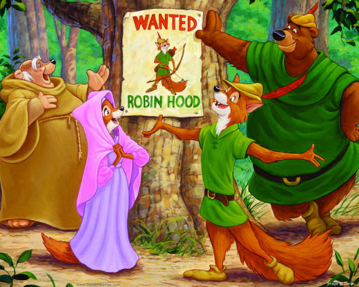 Robin Hood and his Merry Men Cartoon
