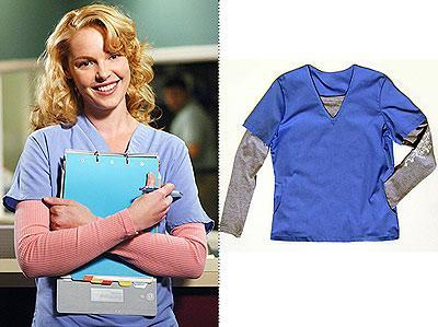 The Katherine Heigl Scrubs Collection